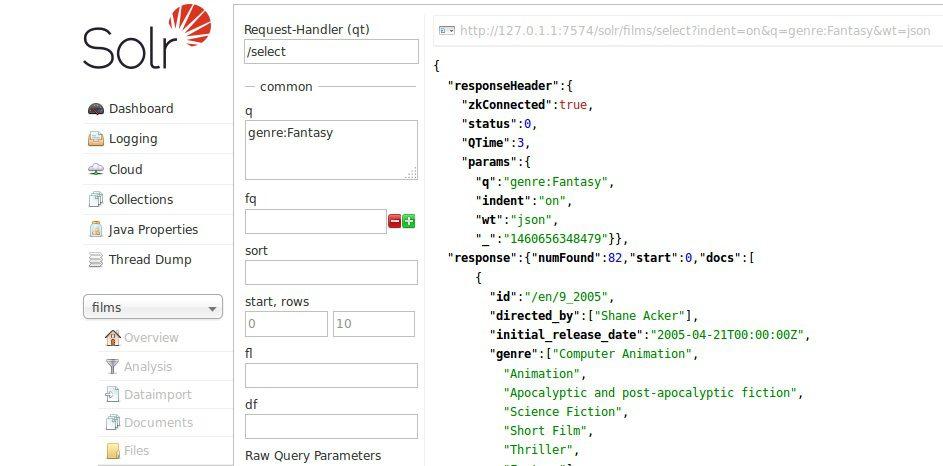 Configuración buscador web solr